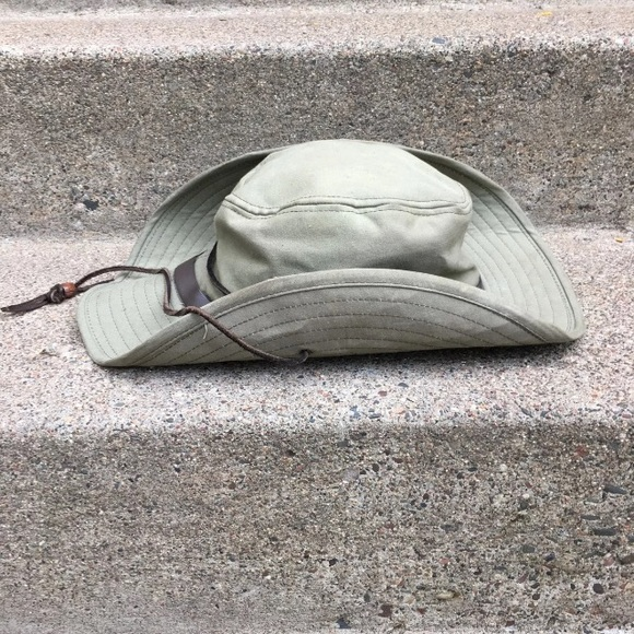 2e8ede06c38 Filson Other - Filson 315 Tin Cloth Bush Hat Cap Large
